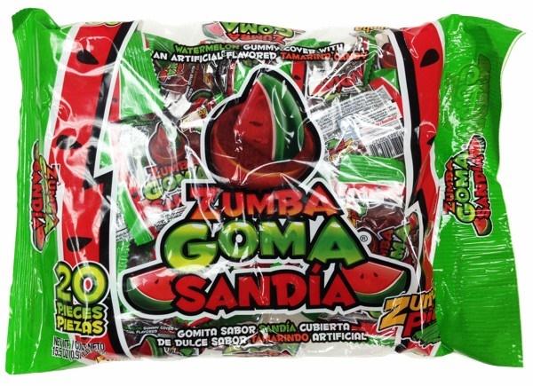 Picture of Zumba Goma Sandia 20 pieces- Item No.03885-01525