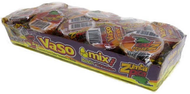 Picture of Zumba Pica Vaso Mix Mango and Tamarind Flavor - MILD 14.1oz - Item No. 03885-06103