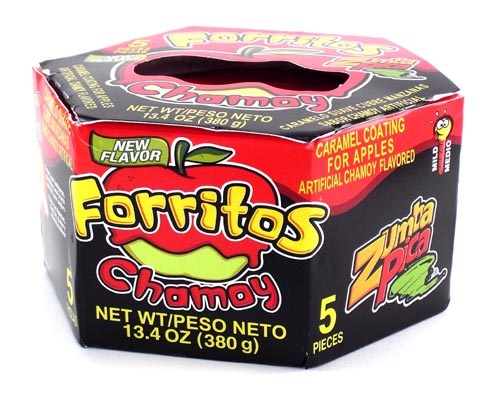 Picture of Zumba Pica Forritos Chamoy (5 pieces) 13.4 oz&nbsp;- Item No.&nbsp;03885-06311
