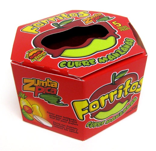 Picture of Zumba Pica Forritos with natural tamarind flavor 15.7oz - Item No. 03885-06312