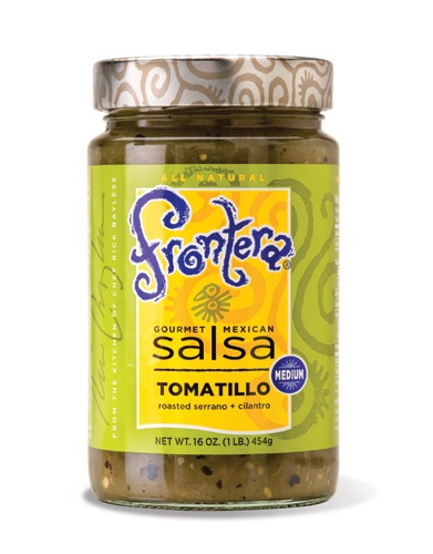 Picture of Frontera Tomatillo Salsa with Roasted Serrano and Cilantro 16 oz - Item No. 04183-11050