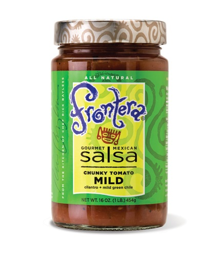 Picture of Frontera Chunky Tomato Salsa with Cilantro and Mild Green Chile 16 oz- Item No.04183-11110