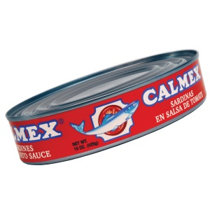 Picture of Calmex Sardines in Tomato Sauce (15 oz) pack of 3 - Item No. 04730-00130