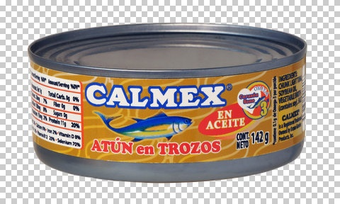 Picture of Calmex Chunk Light Tuna in Soybean Oil (5 oz.)  pack of 3 - Item No. 04730-00140