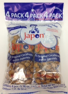 Picture of Japon Japanese Style peanuts (Pack of 4) 7.05 oz&nbsp;- Item No.&nbsp;04730-10518