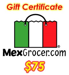 Picture of MexGrocer.com $75 Gift Certificate&nbsp;- Item No.&nbsp;10002
