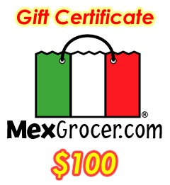 Picture of MexGrocer.com $100 Gift Certificate - Item No. 10003