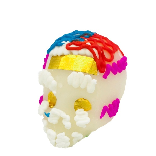 Picture of Calaveras de Azucar - Sugar Candy Skull Dia de Muertos - Medium&nbsp;- Item No.&nbsp;10069-5