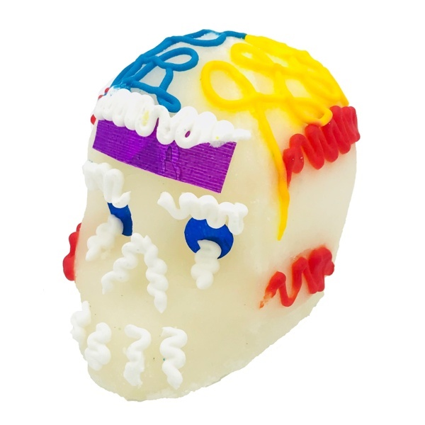 Picture of Calaveras de Azucar - Sugar Candy Skulls Dia de Muertos - Large&nbsp;- Item No.&nbsp;10069-7