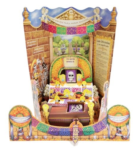 Picture of Day of the Dead Altar de Muertos Paper Cut-Out  - Altar Dia de Muertos Papel Picado - Altar de Muertos - Item No. 10069-altar