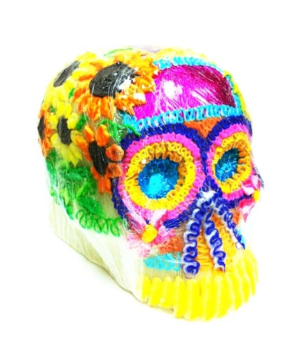Picture of Calaveras de Azucar - Sugar Candy Skulls Dia de Muertos - Extra Large&nbsp;- Item No.&nbsp;10069-giant