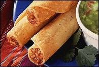 Picture of Pork Taquitos with Guacamole - Item No. 102-porktaquitos