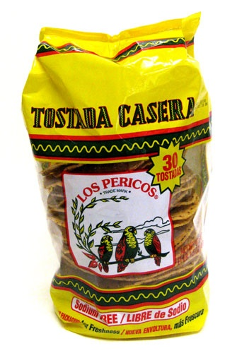 Picture of Los Pericos Tostadas Casera 17.5oz - Item No. 10609-01107