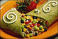Picture of Confetti Rice Wrap - Item No. 109-confetti-rice-wrap