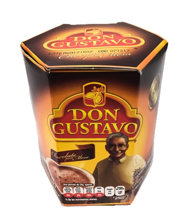 Picture of Don Gustavo Mexican Sweet Chocolate 6 Tablets 19 oz - Item No. 111214