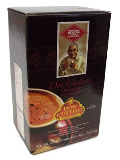 Picture of Chocolate Don Gustavo - Ground Traditional Mexican Chocolate - Chocolate Molido 4.5 lb - Item No. 111306