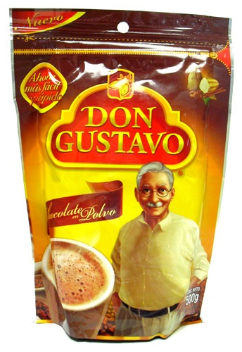 Picture of Don Gustavo Chocolate Cocoa Drink Mix 17.65 oz - Item No. 111498
