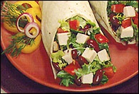 Picture of Turkey Avocado Wrap Recipe - Item No. 112-turkey-avocado-wrap