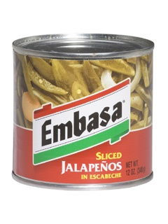 Picture of Embasa Sliced Jalapenos in Escabeche 12 oz. - Item No. 1125