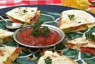 Picture of Pizza Supreme Quesadillas - Item No. 113-pizzaquesadilla