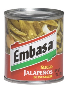 Picture of Embasa Sliced Jalapenos in Escabeche 7 oz (Pack of 3) - Item No. 1135