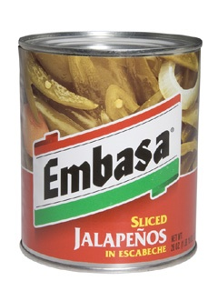Picture of Embasa Sliced Jalapenos in Escabeche 26 oz. - Item No. 1140