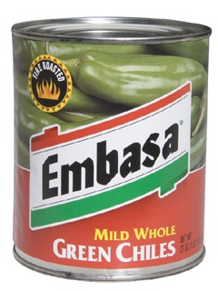 Picture of Mild Green Chiles Whole by Embasa 27 oz.&nbsp;- Item No.&nbsp;1146