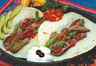 Picture of Spicy Steak Fajitas Recipe - Item No. 115-spicysteakfajita
