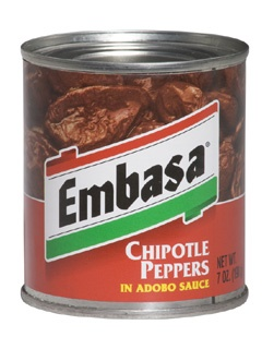 Picture of Chipotle - Embasa Chipotle Peppers in Adobo Sauce 7 oz - Item No. 1150