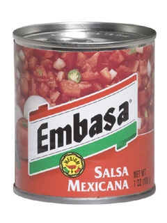 Picture of Embasa Salsa Mexicana - Red 7 oz.&nbsp;- Item No.&nbsp;1158