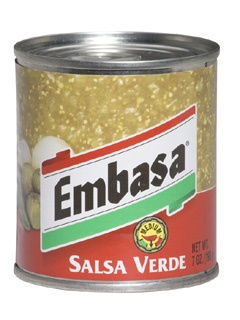 Picture of Salsa Verde - Green Salsa Embasa 7 oz.&nbsp;- Item No.&nbsp;1159
