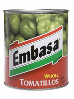 Picture of Embasa Whole Tomatillos 98 oz.&nbsp;- Item No.&nbsp;1174