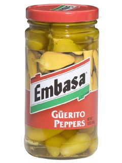 Picture of Embasa Guerito Peppers 12 oz. - Item No. 1176