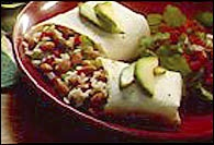 Picture of Three Bean Burrito&nbsp;- Item No.&nbsp;118-threebeanburrito