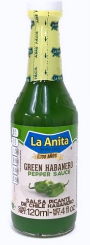Picture of La Anita Green Habanero Hot Sauce 4 oz - Item No. 11848-20572