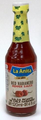 Picture of La Anita Red Habanero Hot Sauce 4 oz - Item No. 11848-20573