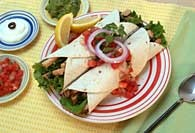 Picture of Simple Chicken Fajitas - Item No. 119-simplechickenfajita