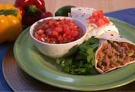 Picture of Slow Cooker Beef-and-Bean Burritos Recipe - Item No. 120-slowcookerburrito