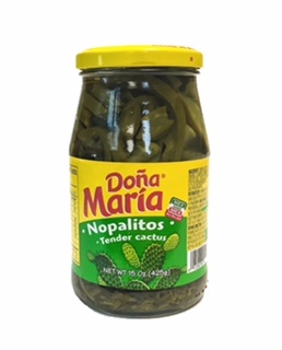 Picture of Nopalitos - Tender Cactus by Dona Maria Nopales 15 oz. - Item No. 1200