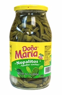 Picture of Nopalitos - Tender Cactus by Dona Maria 30 oz.&nbsp;- Item No.&nbsp;1203