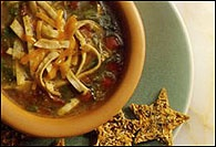 Picture of Tex-Mex Tortilla Soup Recipe - Item No. 122-sacramentotacosoup