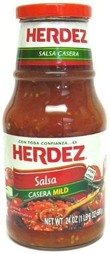 Picture of Herdez Salsa Casera Mild 24 oz. - Item No. 1223
