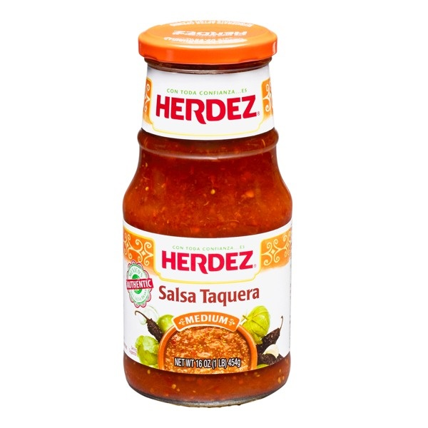Picture of Herdez Salsa Taquera - 16 oz - Item No. 1225