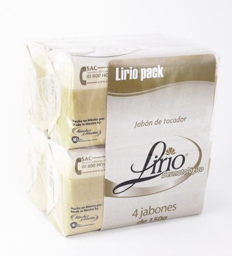 Picture of Lirio Soap Dermatologico (100g each) 5 pack - Item No. 12388-00017
