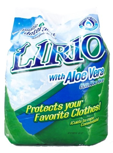 Picture of Lirio Detergent with Aloe Vera (4.5 lbs) 2 kg&nbsp;- Item No.&nbsp;12388-00018