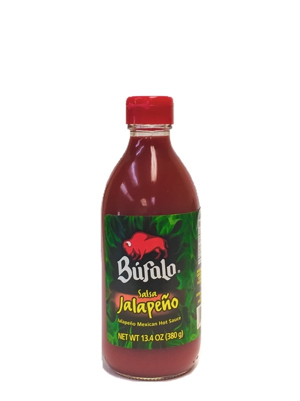 Picture of Salsa Jalapeno Mexican Hot Sauce by Bufalo 13.4 oz. - Item No. 1247