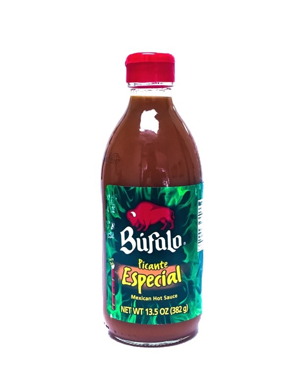 Picture of Mexican Hot Sauce Picante Especial by Bufalo 13.5 oz.&nbsp;- Item No.&nbsp;1248