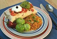 Picture of Bean and Cheese Burrito Recipe - Item No. 125-beancheeseburrito
