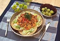 Picture of Mexican Dinner Salad Recipe - Item No. 126-mexicandinnersalad