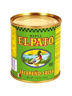 Picture of Salsa de Jalapeno - Jalape�o Salsa by El Pato 7.75 oz. - Item No. 1275